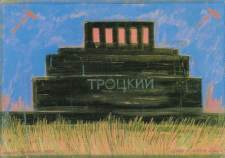 Trotsky's Mausoleum in The Red Square