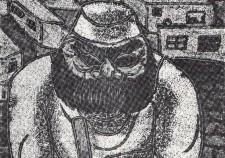 שומר-לילה - 1964 (מונוטיפ וגואש על נייר 42-53)